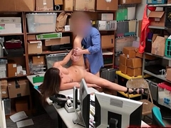 Calumnious Shoplifting Bitch Reality Backroom Sex