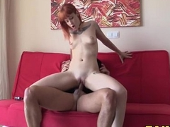 Spanish Redhead Fucking A Policeman Starring Lilyan Red And Monty Cash