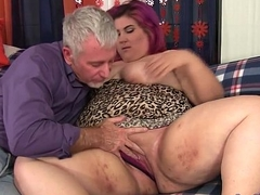Chubby together with bubbly gets fucked hard