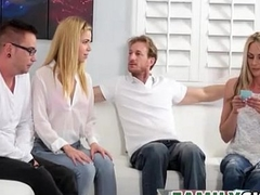 Family Game Night - FamilySex With Alina West