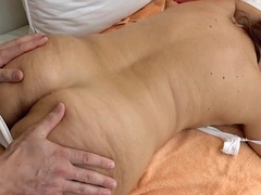 Granny got fucked after kneading - Red Mary