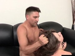 BANG Casting: Elektra Rose Cum Licking Squirting Queen