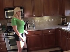 Bigboobed milf screwed roughly with three bbc