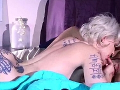 Hot Lesbians (indigo&amp_jenna) Play Hard In Punish Sex Scene Using Toys vid-17