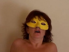 Amateur milf sucking and fucking in the lead of a camera