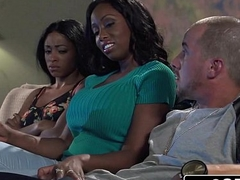 Big Tit Ebony MILF Codi Bryant Attempts Almost Steal Young Anya Ivy'_s Boyfriend