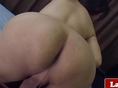 Amateur Thai transexual solo rubbing her weasel words