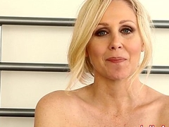 Milf Julia Ann Teases You In the matter of Undergarments &amp_ Helps You Cum!