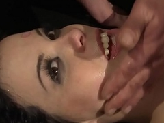 Euro dame roughly fucked by maledom