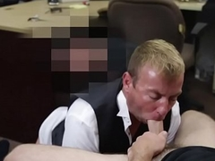 Pawnbrokers fuck straighty plus facialize him