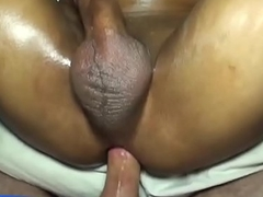 Asian skinny gay blindfolded for hardcore assfuck fucking