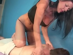 Mature massage cock pleasantly